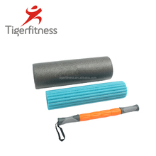 hollow 33cm long colorful deep massage textured gymnastic yoga roller
