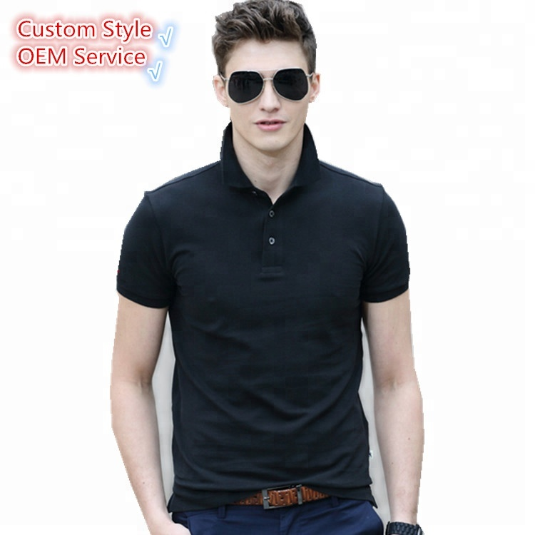 OEM manufacturer bulk fashion shirts custom printed <strong>design</strong> with embroidery logo blank poloshirt