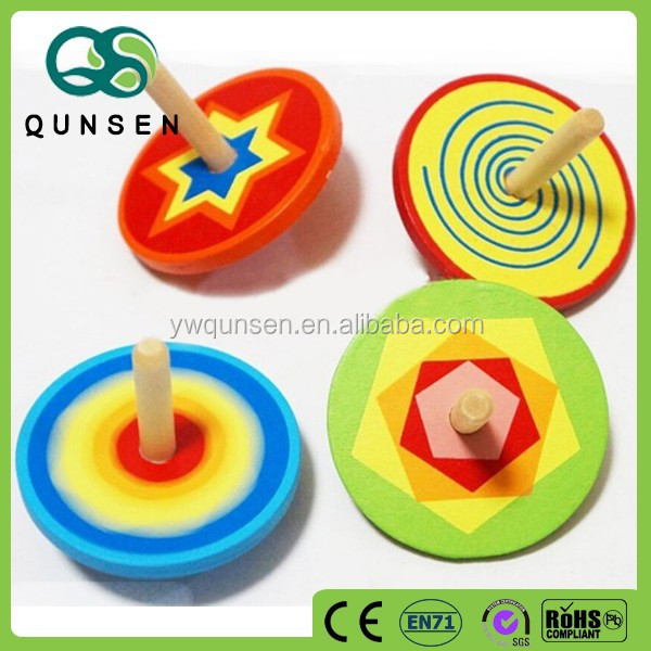cheap yiwu alibaba China wooden spinning top