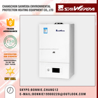 Best sale wall hung installation gas boilers-efficiency>=91.6%,MOQ 1 set,free chimney