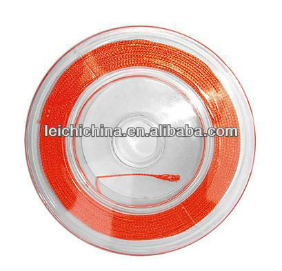 high quality Orange fly fishing braided backing line