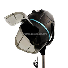 Multi-function Standing helmet black and white color Professional Hair Dryer