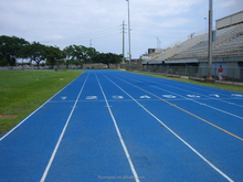 Prefabricated rubber running track /Rubber running track /IAAF athletic running track