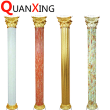 white marble cheap fiberglass wedding colums