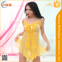 HSZ-8072# Fashion design women red nighty hot sale women indian women nighty hot sexy girls babydoll nighty