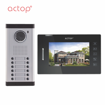 China manufacture ACTOP wired smart video apartment door bell