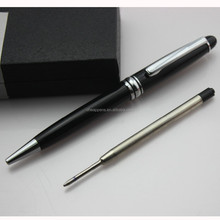 metal gift mont black pen