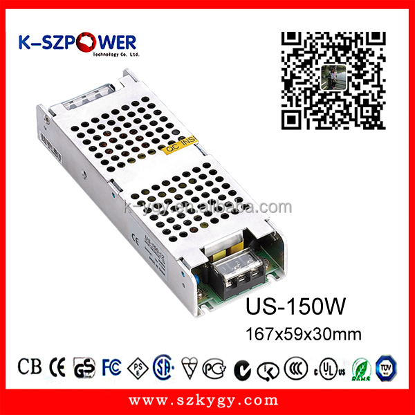 US-150w 110v ac to 12V dc 12.5a 150w switching power supply