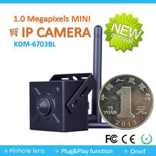 Wifi IP Bank ATM Machine Hidden Pinhole Wireless Mini HD CCTV Camera
