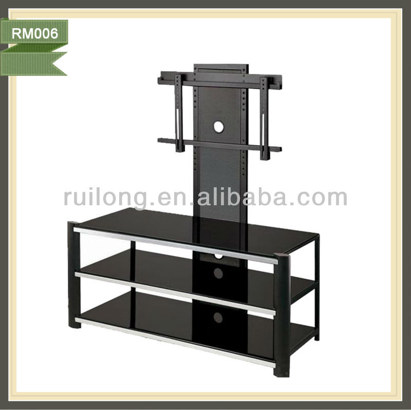 industrial furniture india cabinet tv lift wrought iron stand RM006
