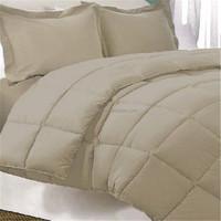 white 233TC cotton fabric goose down duvet insert queen
