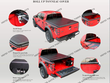 for D-Max Double Cab quality guaranteed japan car accessories roll up Tonneau Cover