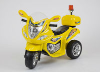 2014 pinghu toy car baby plastic motorize ride on 3 wheeler, motocycle, electric motorcycle ride on car