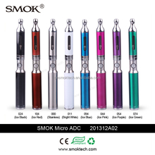 Best seller dual coils 1.5/2.0ohm tank smok micro adc 3ml dual coil vaporizer