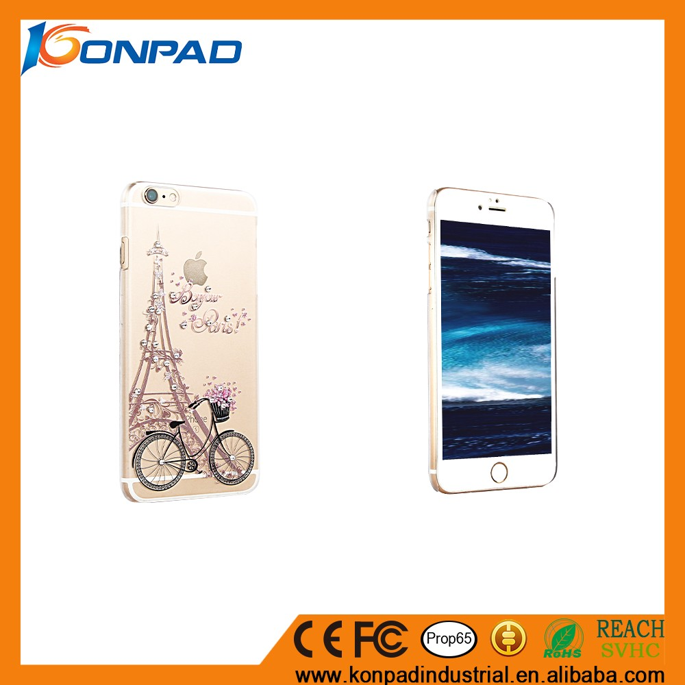 Eiffel Tower Peacock Beauty Girl Transparent Silicone Soft TPU cover print phone case for iphone 5 6 6s plus 7 7plus