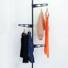 Coat Hanger Stand Home Clothes Storage Standing Rack Living Room Furniture