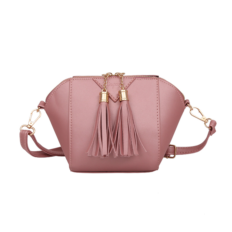 Pink Lady Crossbody Shoulder Handbags Female Luxury Handbags High Quality Handbags