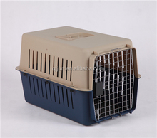 excellent plastic pet case transport portable pet air carrier