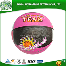hot selling OEM popular hot sale panel rubber basketball