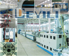 Plastic HDPE Water/Gas Supply Pipe Extruder Machine