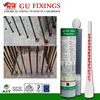 Construction building with glass capsule chemical anchor stainless steel rebar