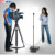 Portable Professional Speech Teleprompter with high brightness LCD monitor