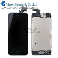Touch and LCD Assembly spare parts for iPhone 5S 5G LCD parts