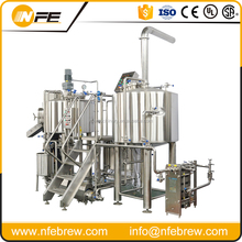 pub/restaurant small 2BBL beer brewing equipment , commercial beer brewing system , automatic beer brewery equipment