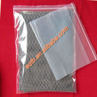 clothes packaging durable plastic zip lock bag