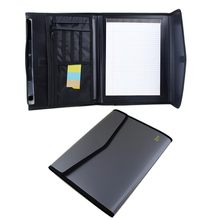 A4 expandable men's portfolio file folders 6 pockets composition expanding file folder document filing bag business case