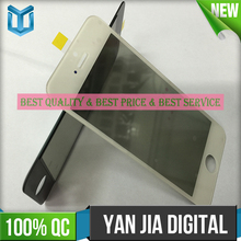 2016 Hot selling for iphone 6 glass assembly ,for iphone 6 glass with frame and oca polarizer
