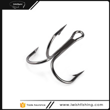 Discount Tackle Fishing Black Treble Hook For Catfish