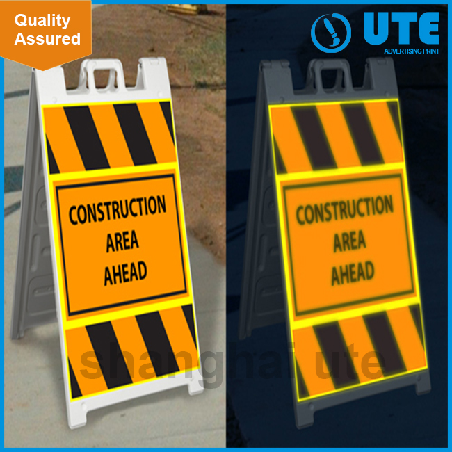 Best selling High Quality road signs reflective decal
