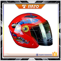 Hot sale half face motorcycle vintage modern helmet