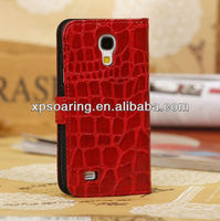 Fashion wallet leather pouch bag for Samsung Galaxy S4 Mini i9190