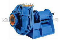 With Abrasion Resistant Rubber Centrifugal Slurry Pump