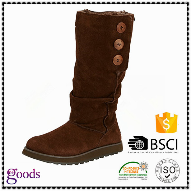 Womens snow boots knee high boots