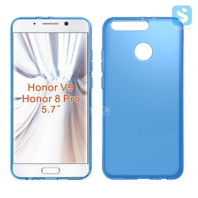 For HUAWEI Honor V9 / 8 Pro Soft TPU Matte Back Mobile Phone Case Cover