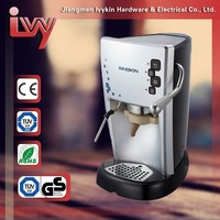 China coffee machine with price Pink Italian espresso coffee brewer with e.s.e pad,e.s.e. pad espresso coffee maker
