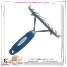 New style pet brush steel rake brushes for large pet easy grooming and horse hair wheel pet product