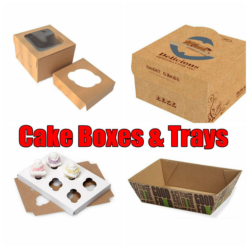 Cupcake Paper Boxes, Luxury Printed Packaging Boxes Manufacturer