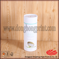 Custom kraft paper tube/cardboard round box in China