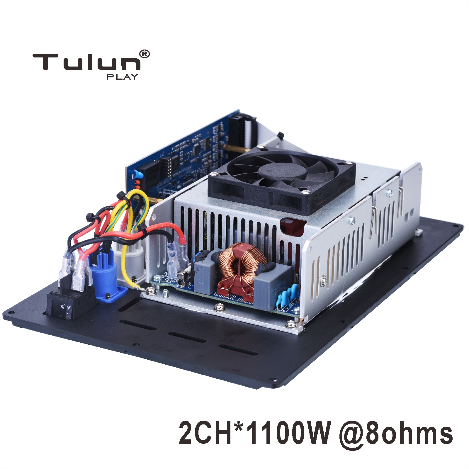 2 Channel 1100W@ 8ohm subwoofer Amplifier module plate DSP Class <strong>D</strong> amp module powered subwoofer Tulun Play AM3002