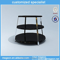 outdoor folding clothing display table