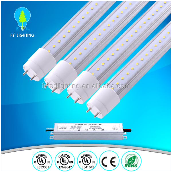 waterproof led T8 lamps/ led T8 fixture/2ft,4ft led florescent tube