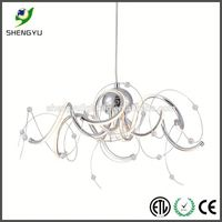 acrylic modern led lighting fixtures residential light fixtures