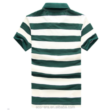 China Apparel Mens Polo Collar Striped T Shirt Cheap Polo