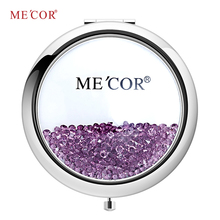 Fashion Small Woman Cosmetic Portable Round Mirror