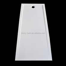 DOMO high quality acrylic fiberglass shower tray/bathroom shower pan 1600*700*60/35mm
