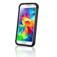 Heavy Duty Shockproof Dustproof PC + Silicone Bumper Case Cover For Samsung Galaxy S5 Mini